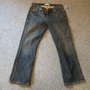 Levi 529 curvy boot cut. Size 16